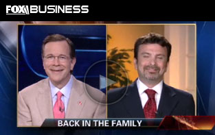 Anderson-Little on Fox Business News discussing the Classic Anderson-Little Blue and Navy Blazer